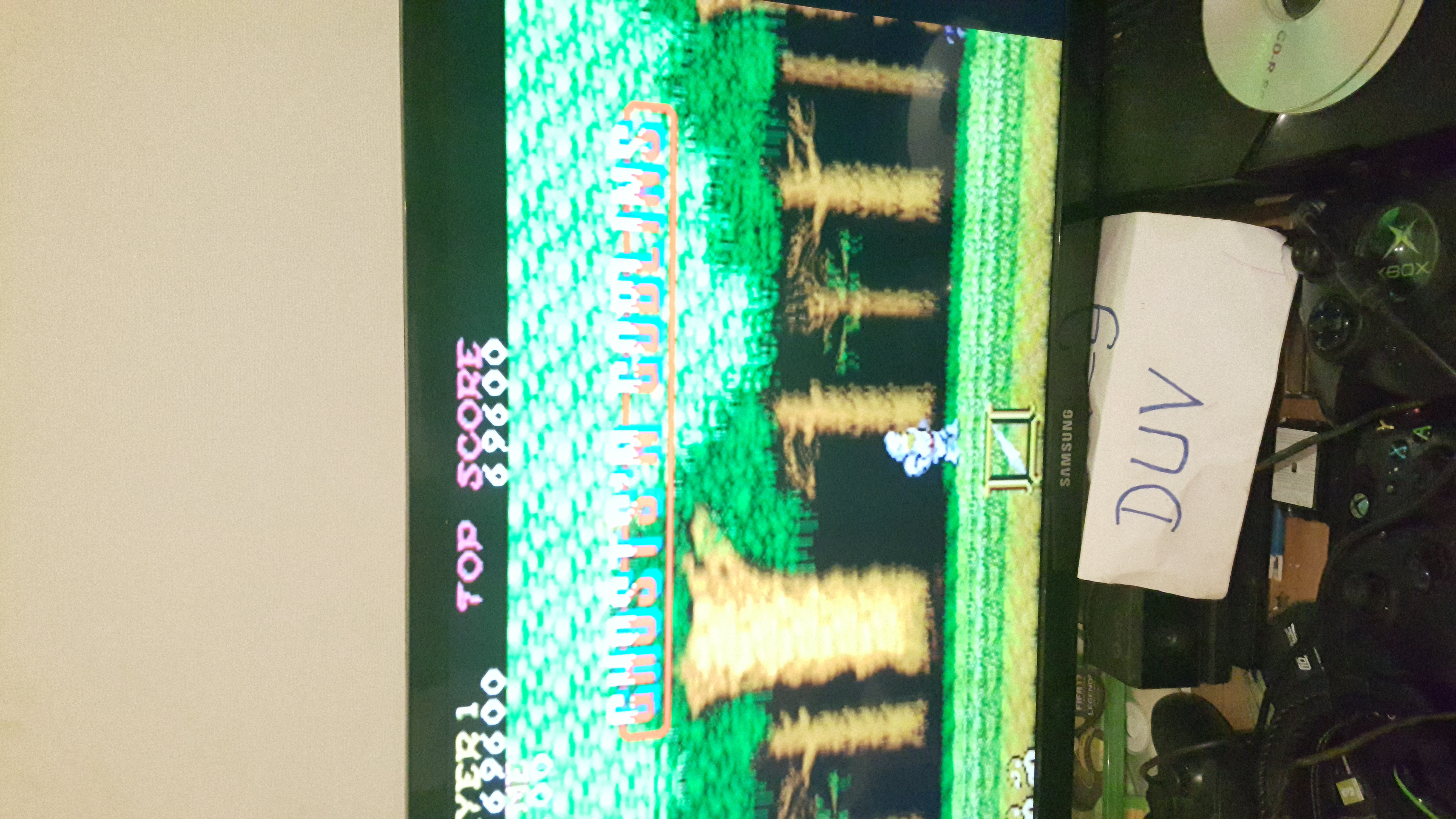 dovey: Ghosts N Goblins (Arcade Emulated / M.A.M.E.) 69,600 points on 2016-11-13 15:46:01