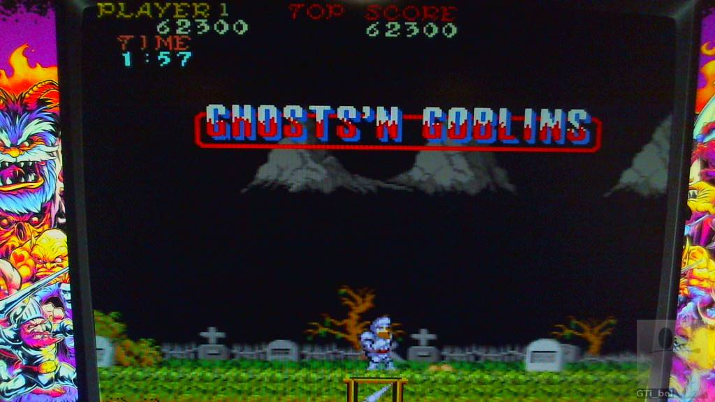 GTibel: Ghosts N Goblins (Arcade Emulated / M.A.M.E.) 62,300 points on 2018-10-30 13:07:37