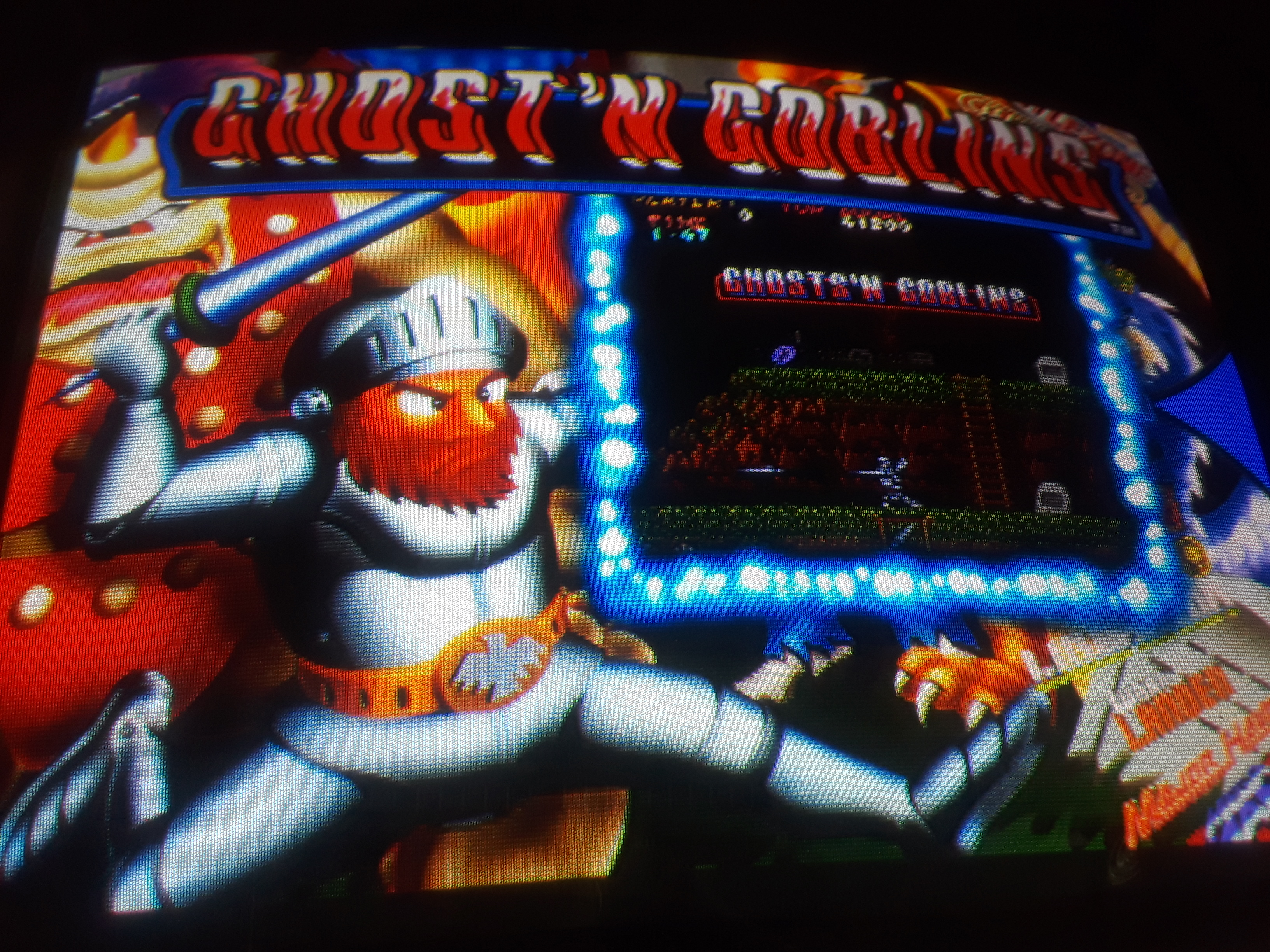 JML101582: Ghosts N Goblins (Arcade Emulated / M.A.M.E.) 12,400 points on 2019-06-15 15:08:54