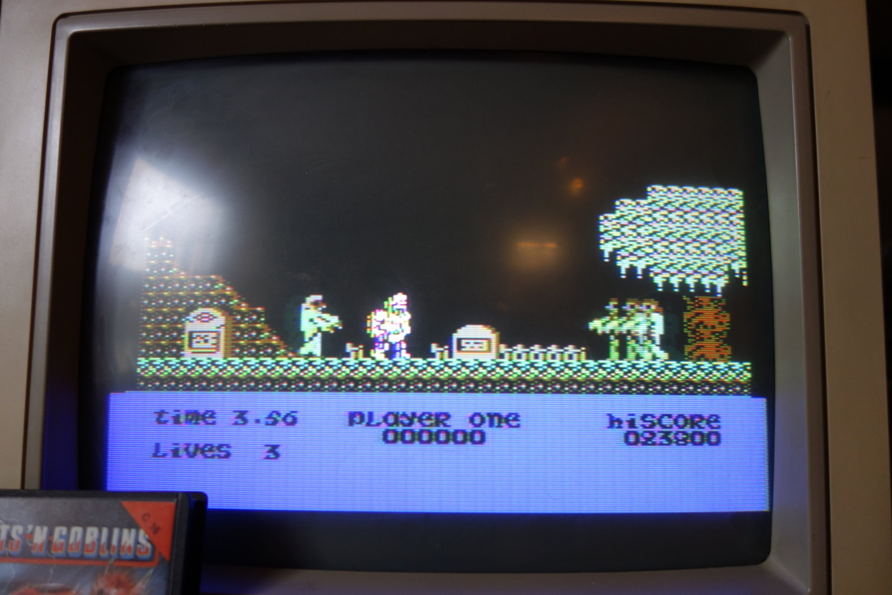 plus4punk: Ghosts N Goblins (Commodore 16/Plus4) 23,800 points on 2020-03-02 11:18:20