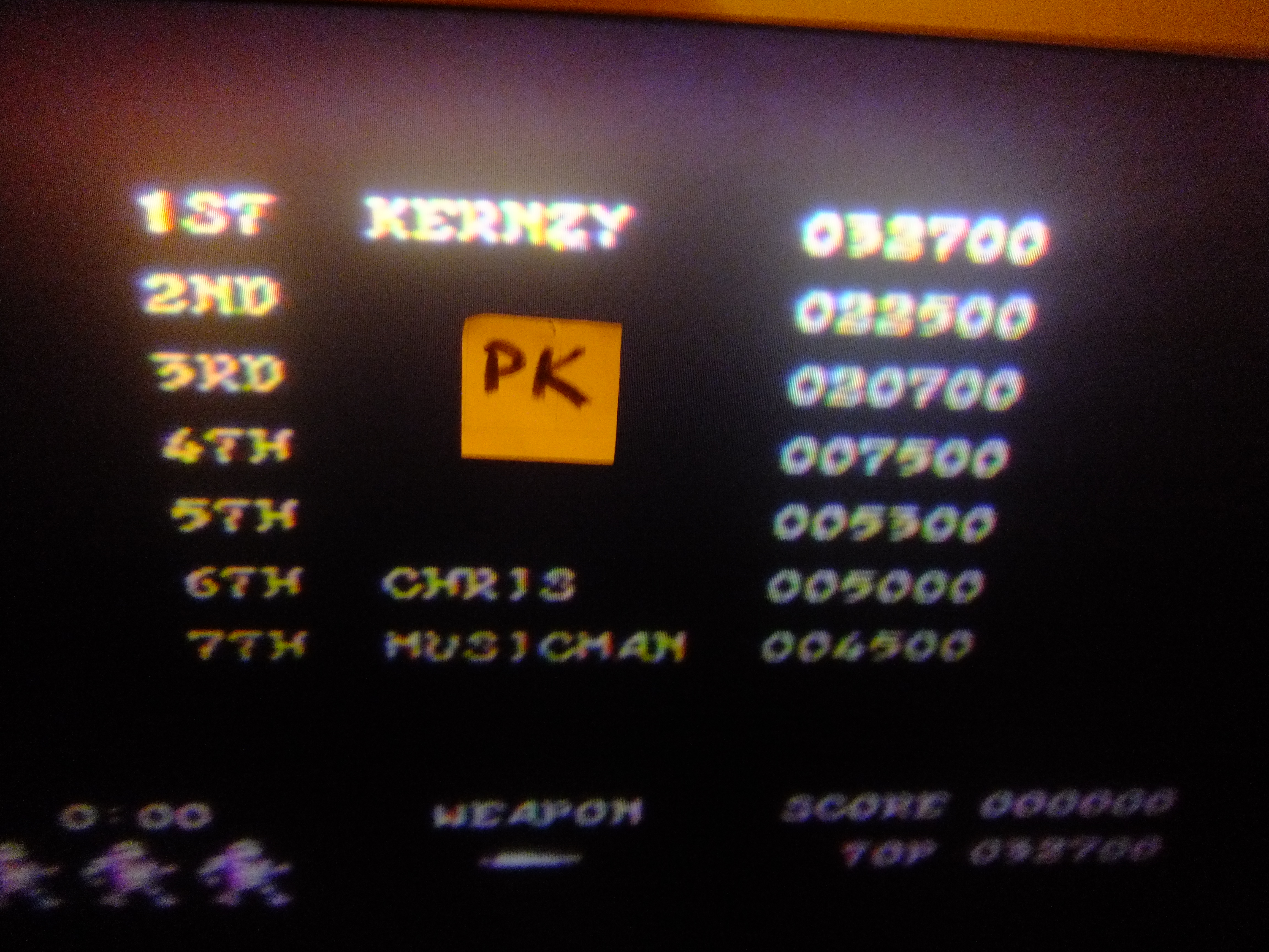 kernzy: Ghosts N Goblins (Commodore 64) 32,700 points on 2015-11-21 20:35:58