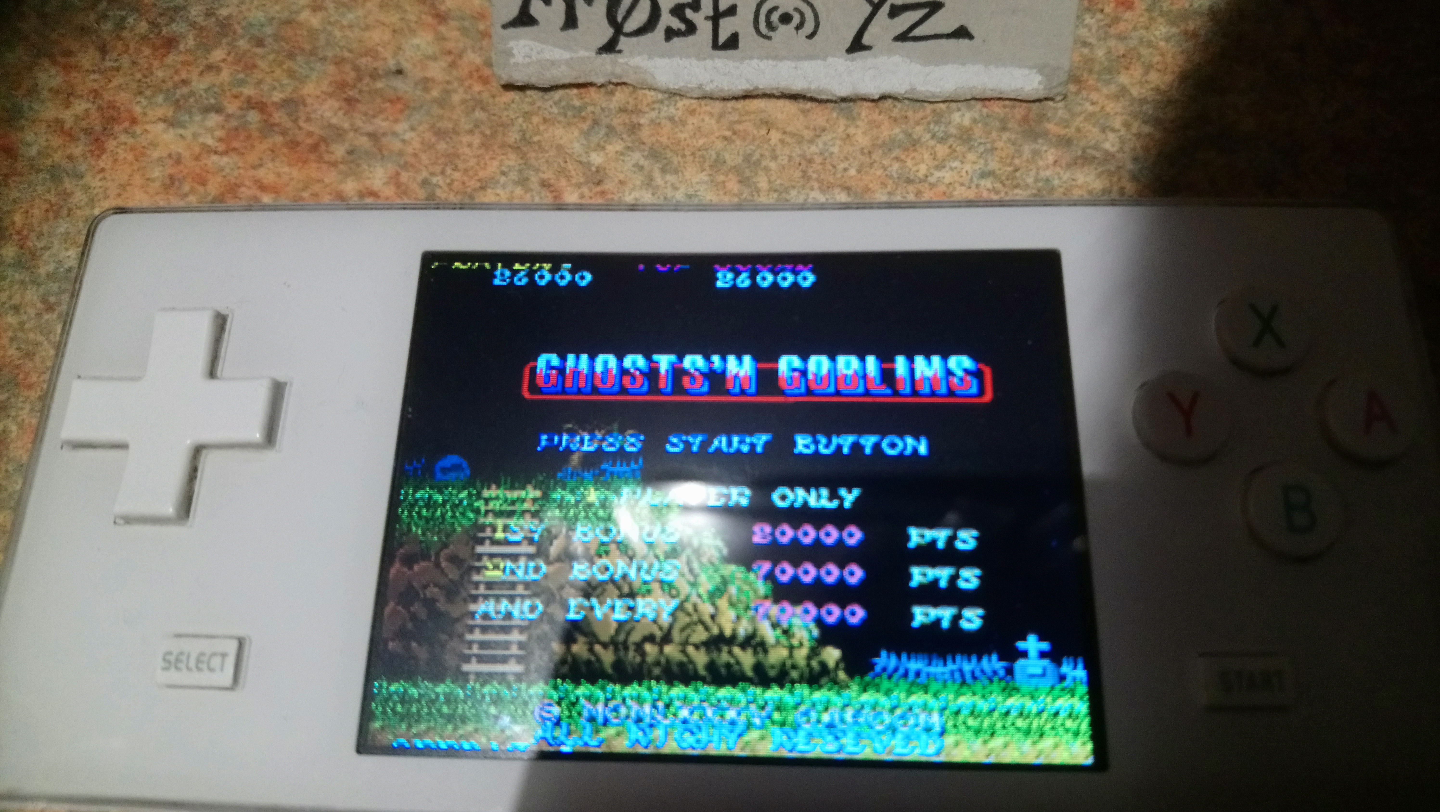 Ghosts N Goblins 26,000 points