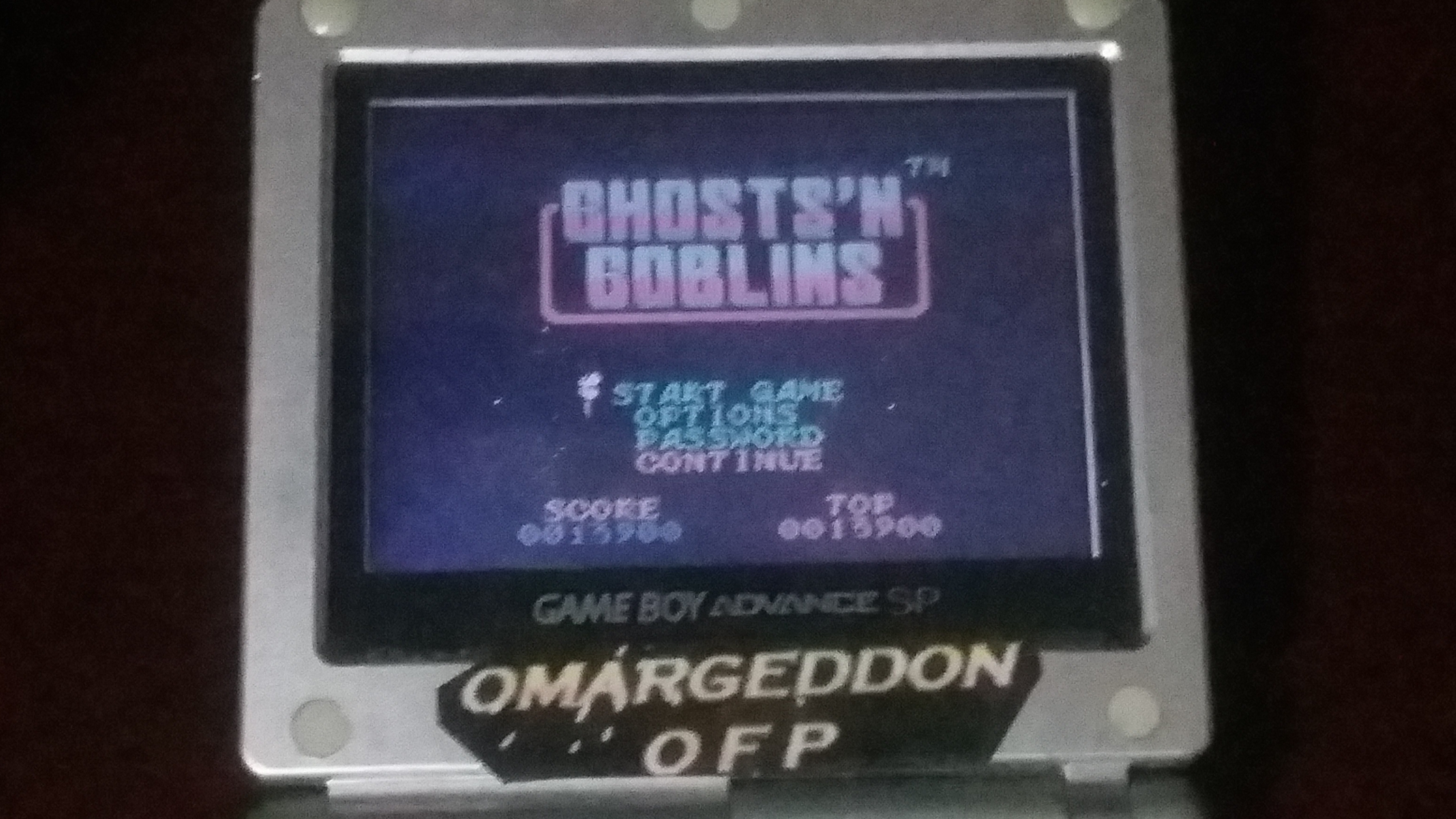 omargeddon: Ghosts N Goblins (Game Boy Color) 13,900 points on 2018-04-12 21:33:04