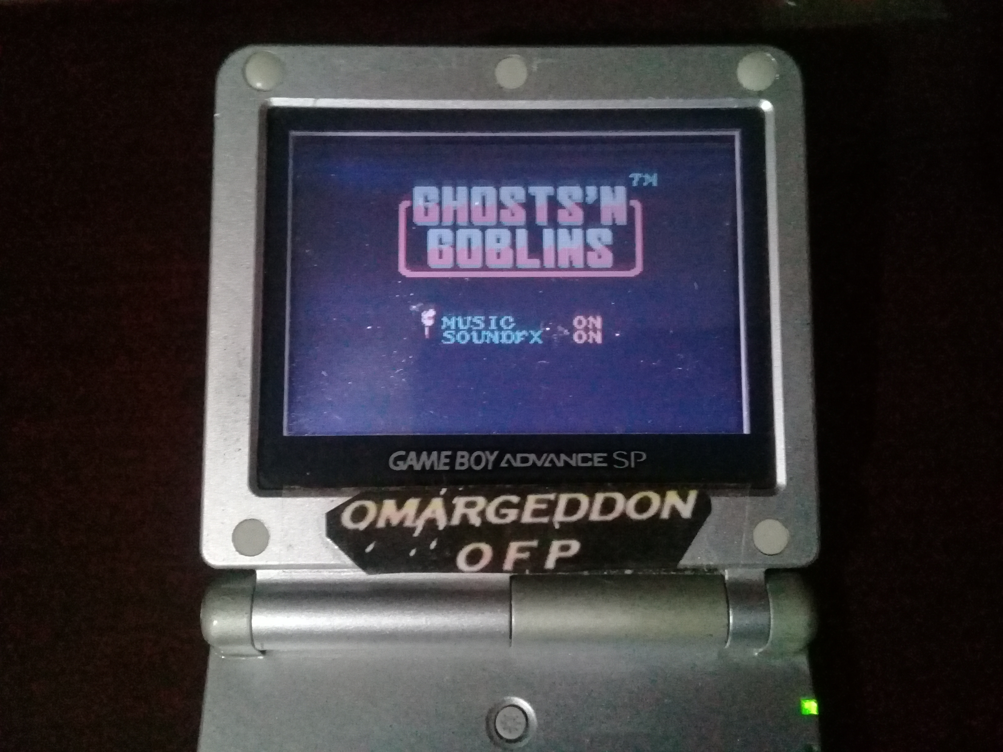 omargeddon: Ghosts N Goblins (Game Boy Color) 27,900 points on 2019-05-24 10:40:47
