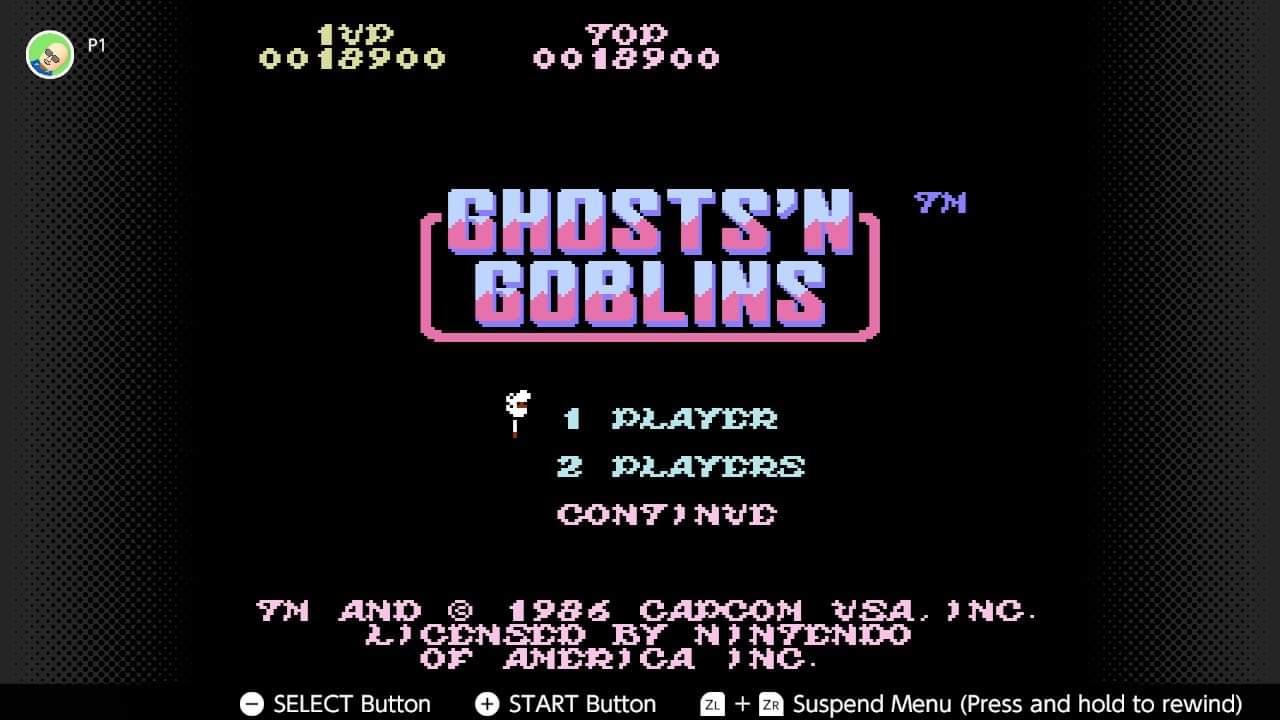Ghosts N Goblins 18,900 points