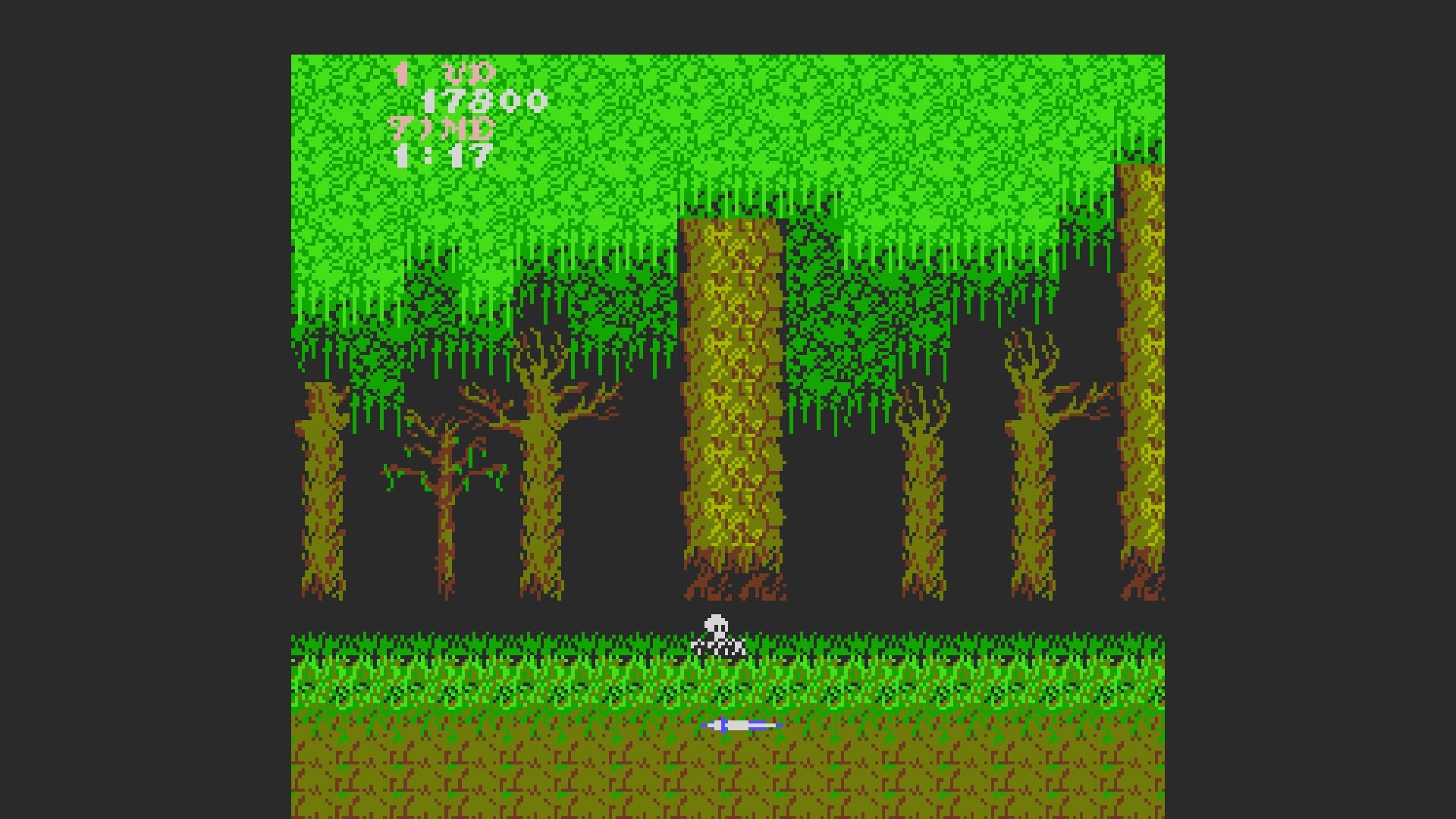 AkinNahtanoj: Ghosts N Goblins (NES/Famicom Emulated) 17,800 points on 2020-08-21 06:39:46