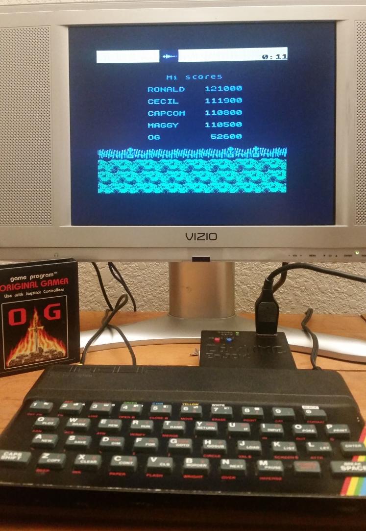 OriginalGamer: Ghosts N Goblins (ZX Spectrum) 52,600 points on 2017-12-17 00:44:49