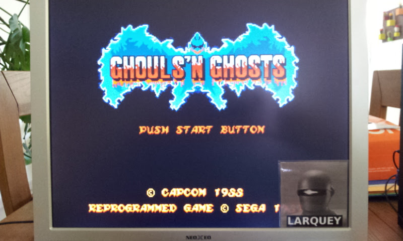 Larquey: Ghouls N Ghosts (Sega Genesis / MegaDrive Emulated) 15,700 points on 2017-04-23 08:03:17