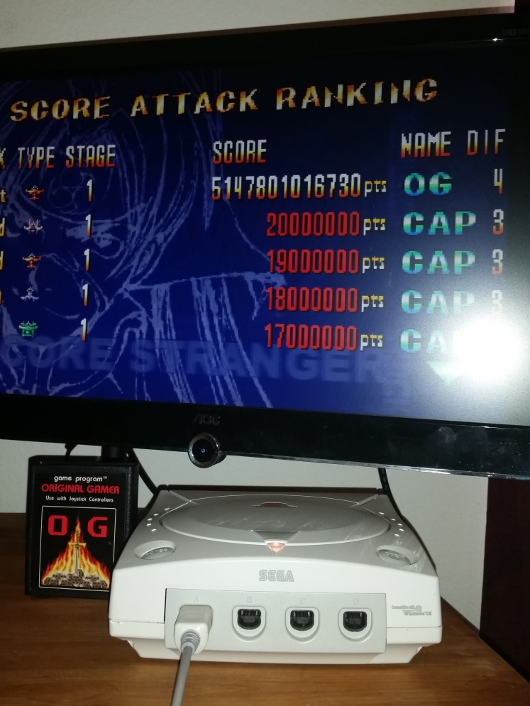 OriginalGamer: Giga Wing: Score Attack: Stage 1 (Dreamcast) 5,147,801,016,730 points on 2016-05-16 01:51:36