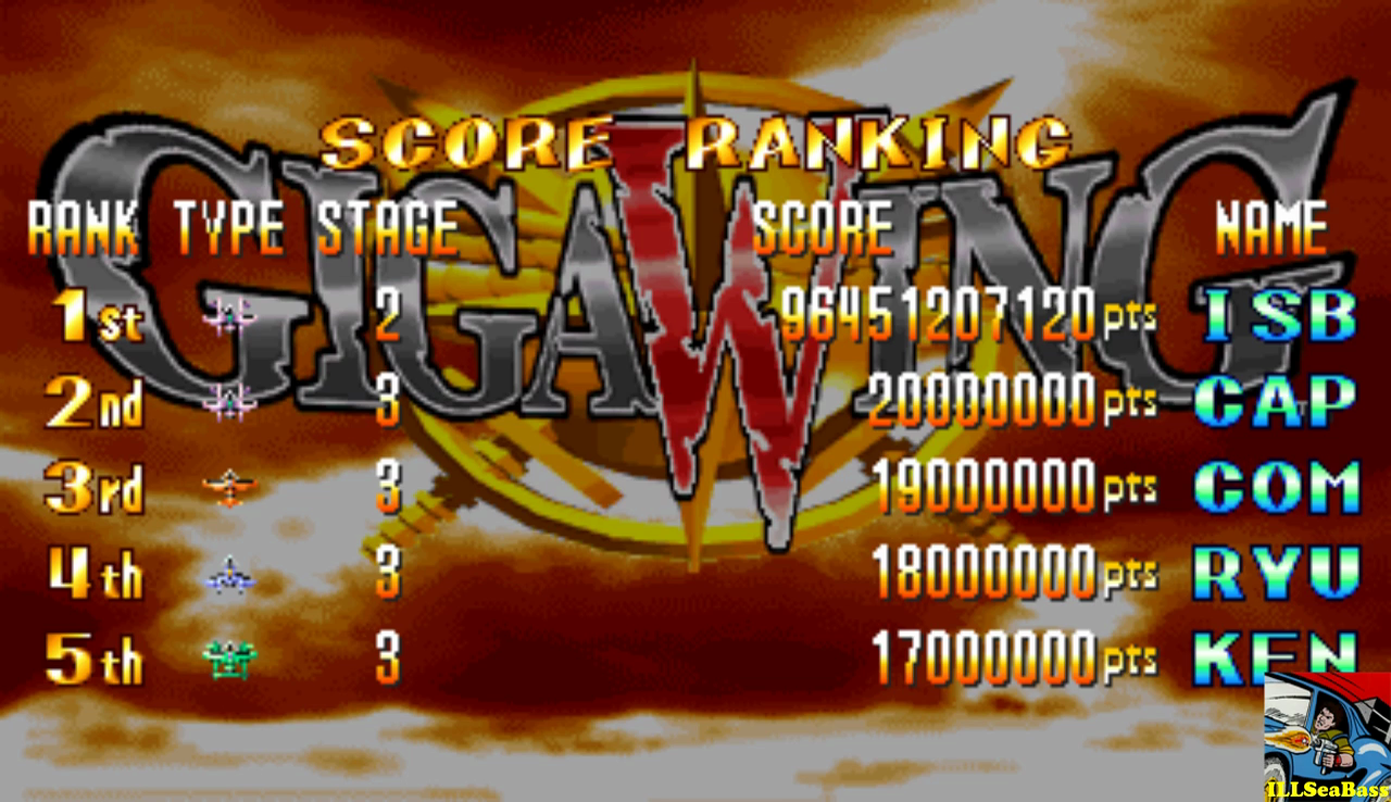 Giga Wing [gigawing] 96,451,207,120 points