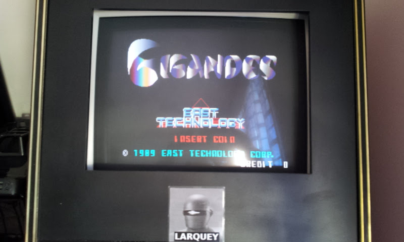 Larquey: Gigandes [gigandes] (Arcade Emulated / M.A.M.E.) 149,300 points on 2017-12-24 07:48:32