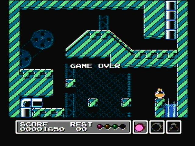 derek: Gimmick! (NES/Famicom) 1,650 points on 2016-05-21 16:02:08