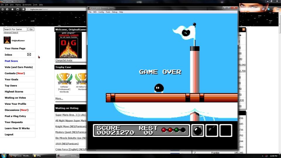 OriginalGamer: Gimmick! (NES/Famicom Emulated) 21,270 points on 2016-09-05 01:16:16