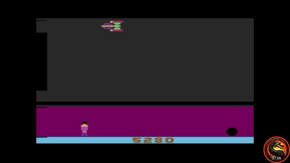 omargeddon: Glacier Patrol: Game 1 (Atari 2600 Emulated Expert/A Mode) 5,280 points on 2020-09-17 11:25:30