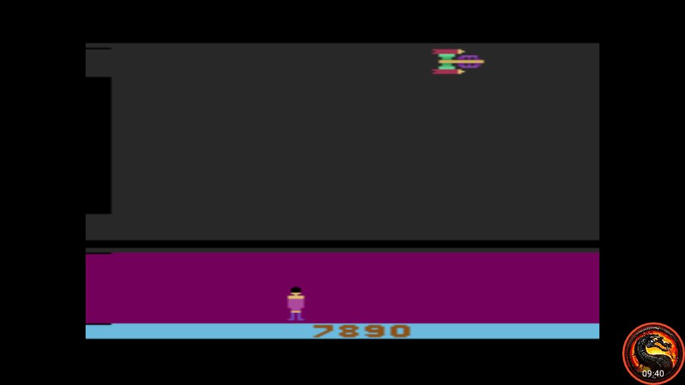 omargeddon: Glacier Patrol: Game 1 (Atari 2600 Emulated Novice/B Mode) 7,890 points on 2020-09-16 23:25:42