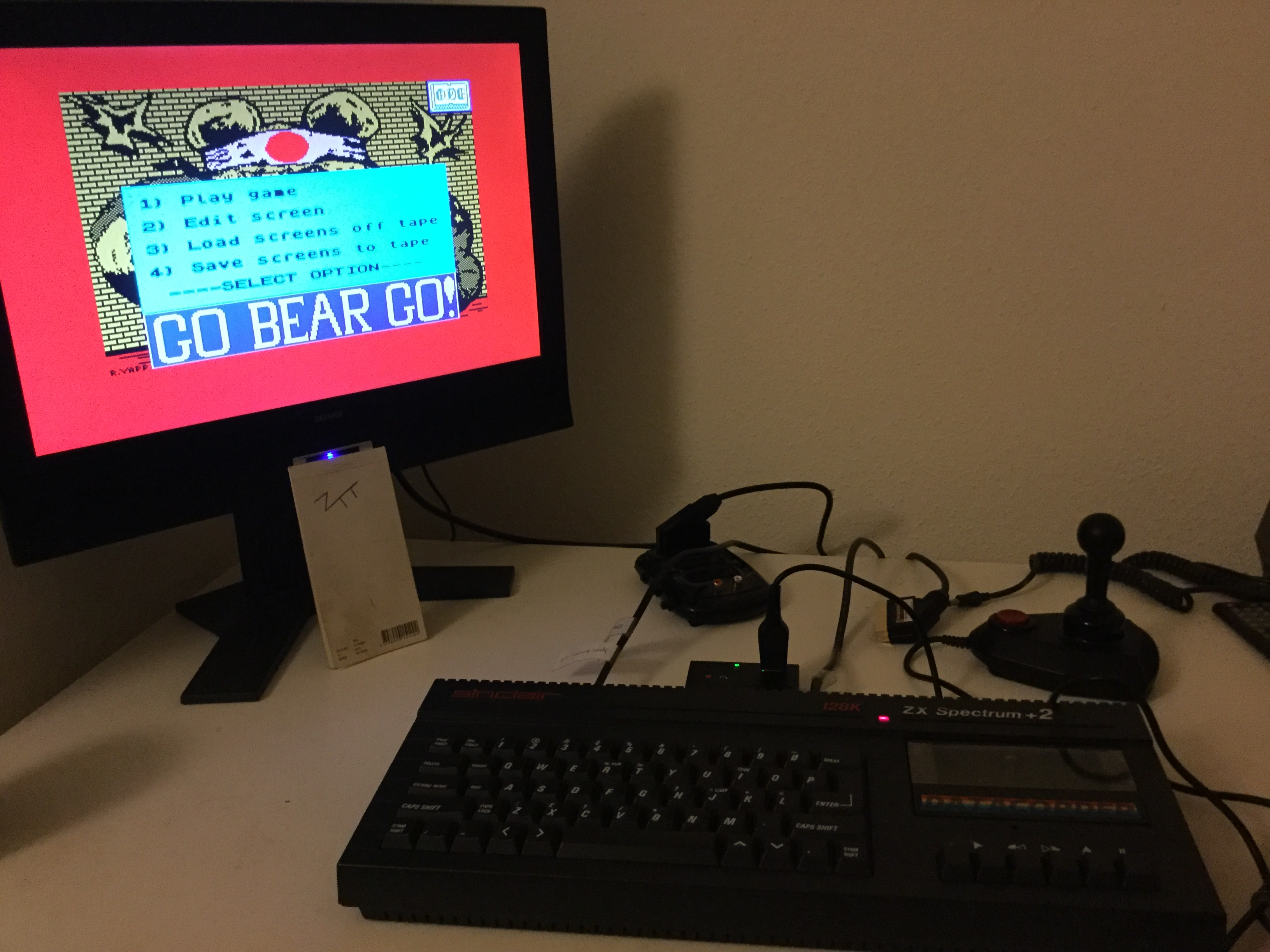Frankie: Go Bear Go! (ZX Spectrum) 45,472 points on 2020-03-21 04:59:15