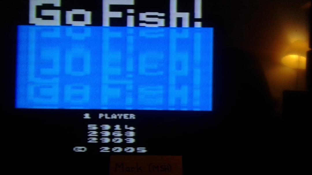 Mark: Go Fish (Atari 2600 Expert/A) 5,914 points on 2019-09-15 17:01:16
