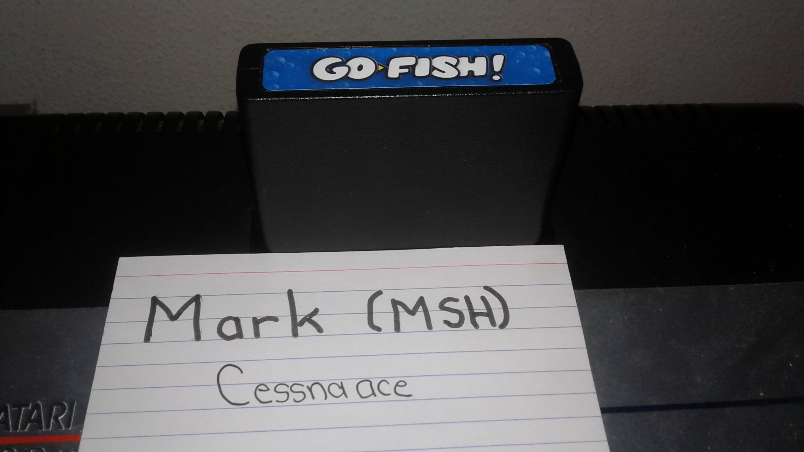 Mark: Go Fish (Atari 2600 Novice/B) 5,365 points on 2019-08-25 23:31:22