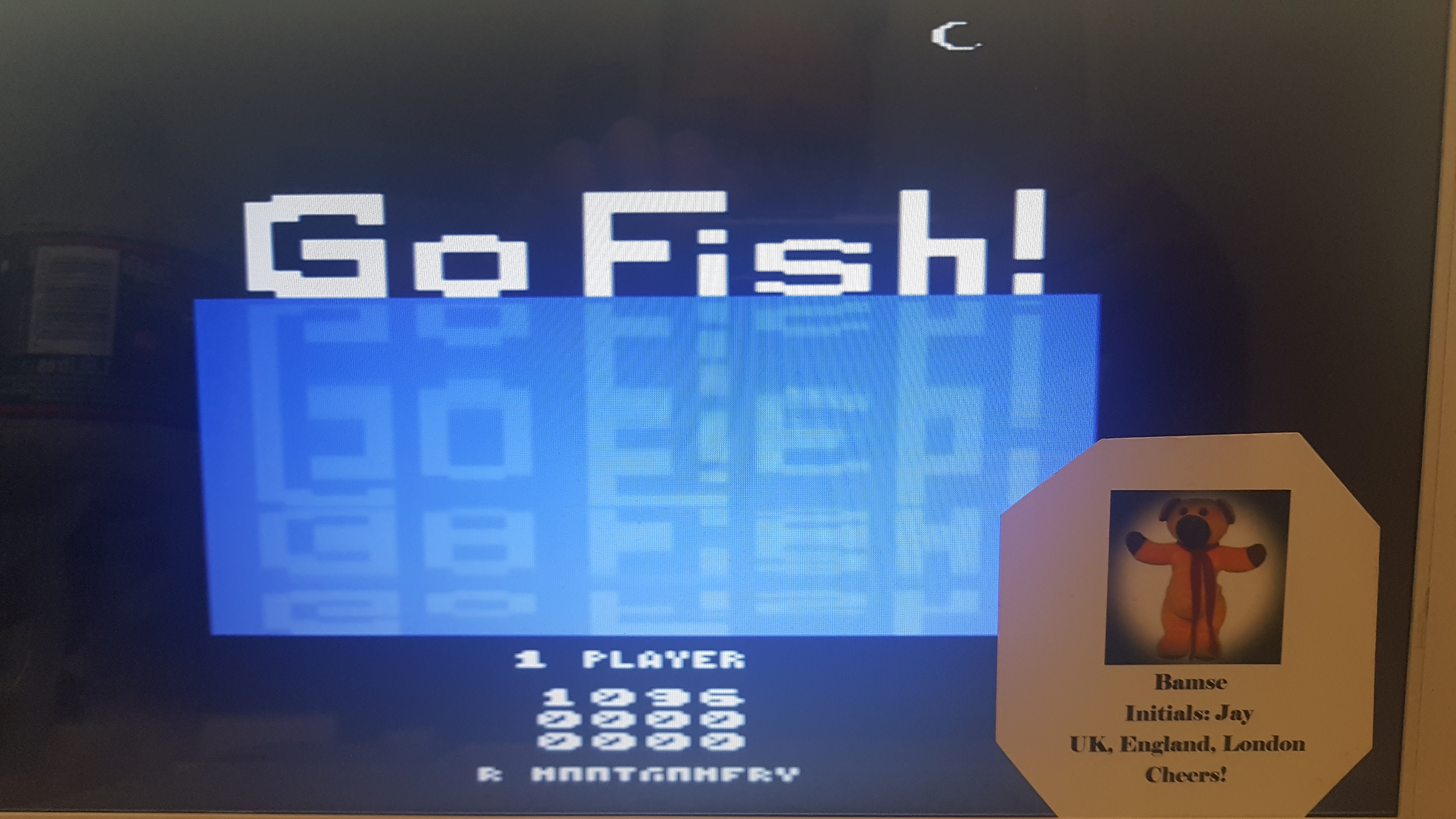 Go Fish 1,096 points