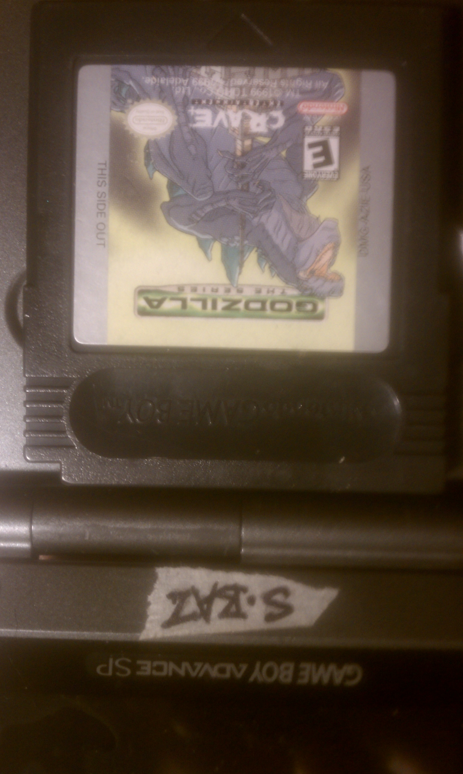 S.BAZ: Godzilla The Series (Game Boy Color) 4,100 points on 2020-07-14 18:52:22