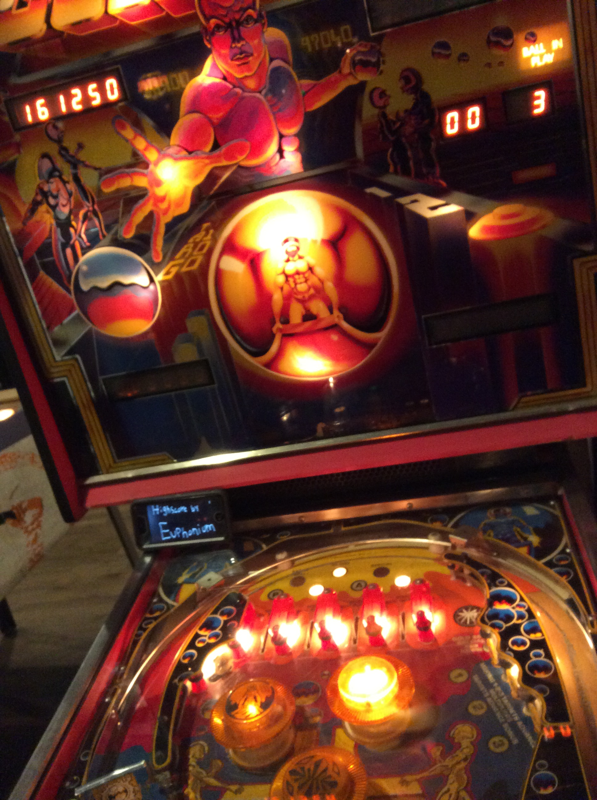 euphonium: Gold Ball (Pinball: 3 Balls) 161,250 points on 2016-08-31 08:06:01