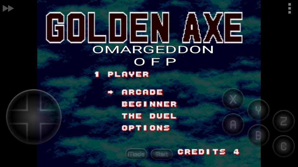 Golden Axe [Arcade] 12 points