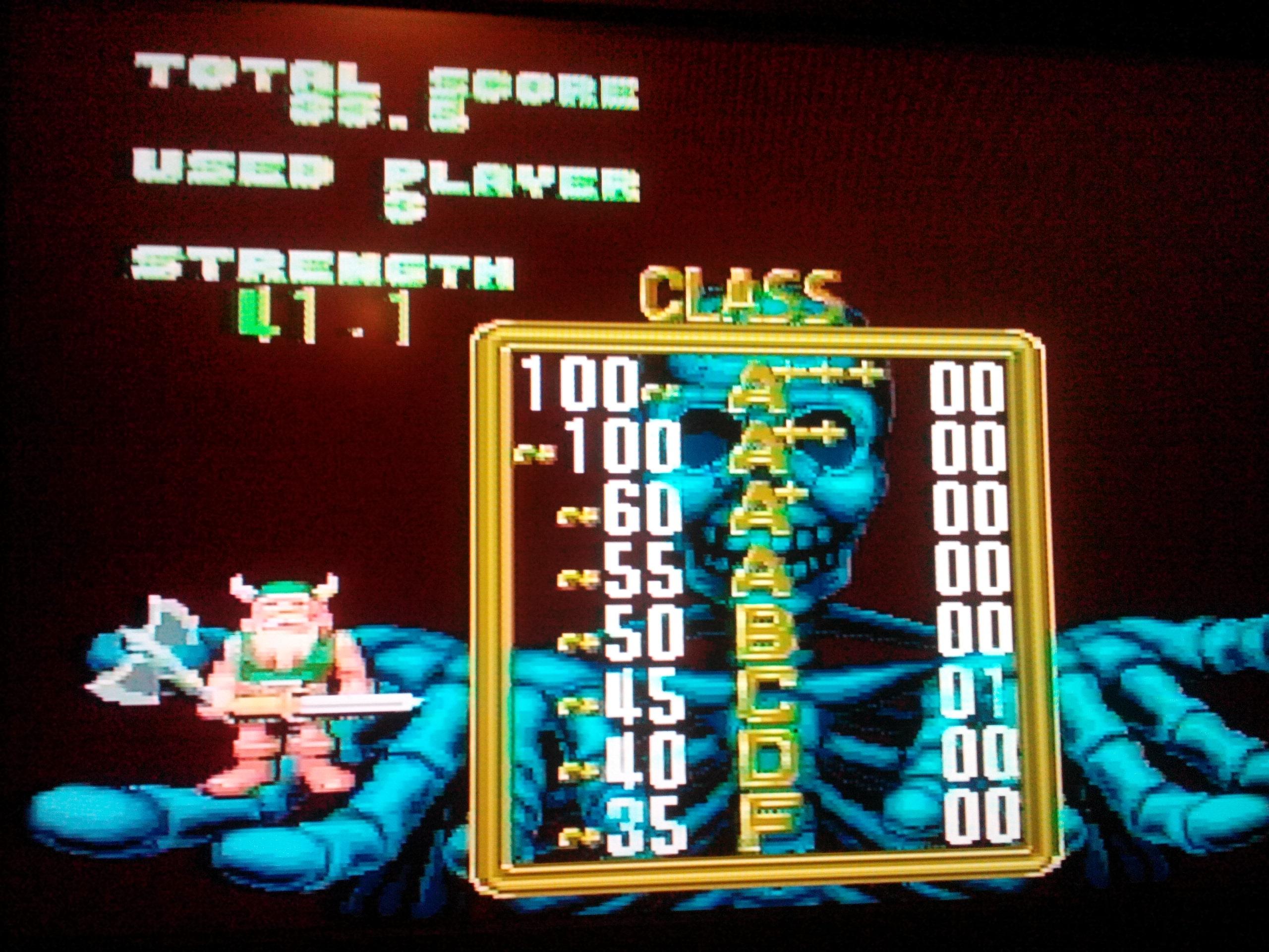 Golden Axe [Arcade] 33 points