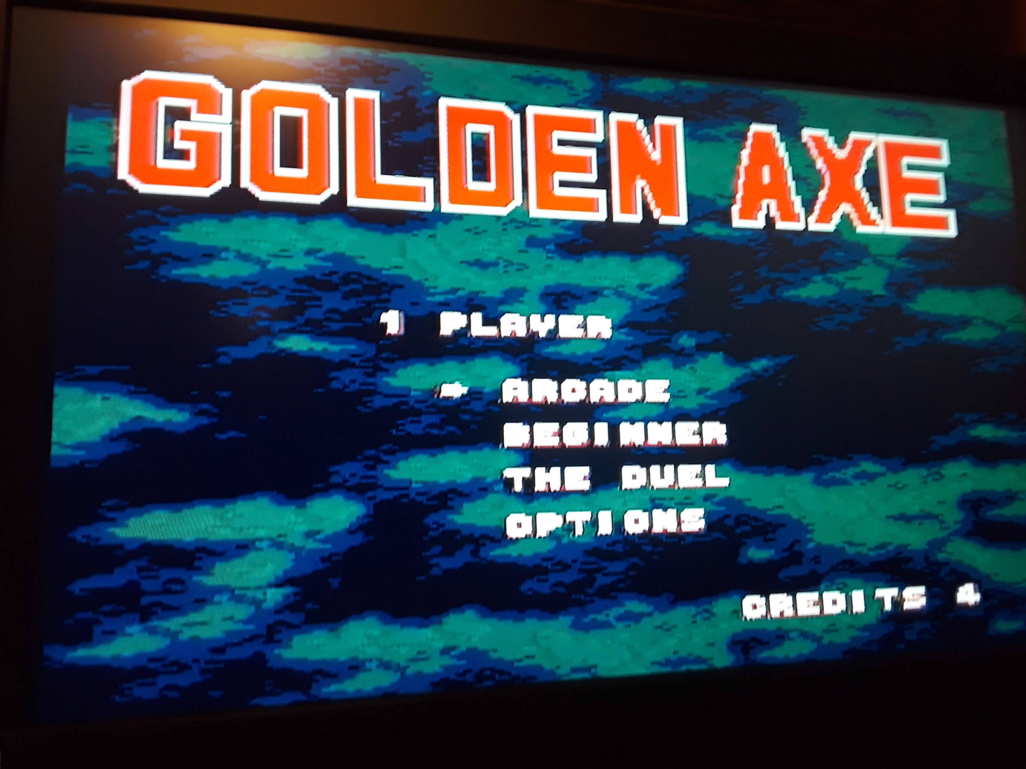 Golden Axe [Arcade] 38 points