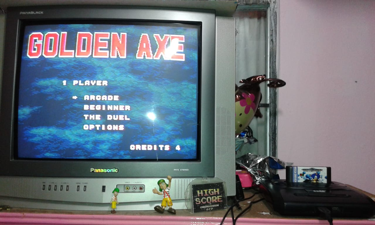 omargeddon: Golden Axe [Arcade] (Sega Genesis / MegaDrive) 23 points on 2018-08-11 19:55:59