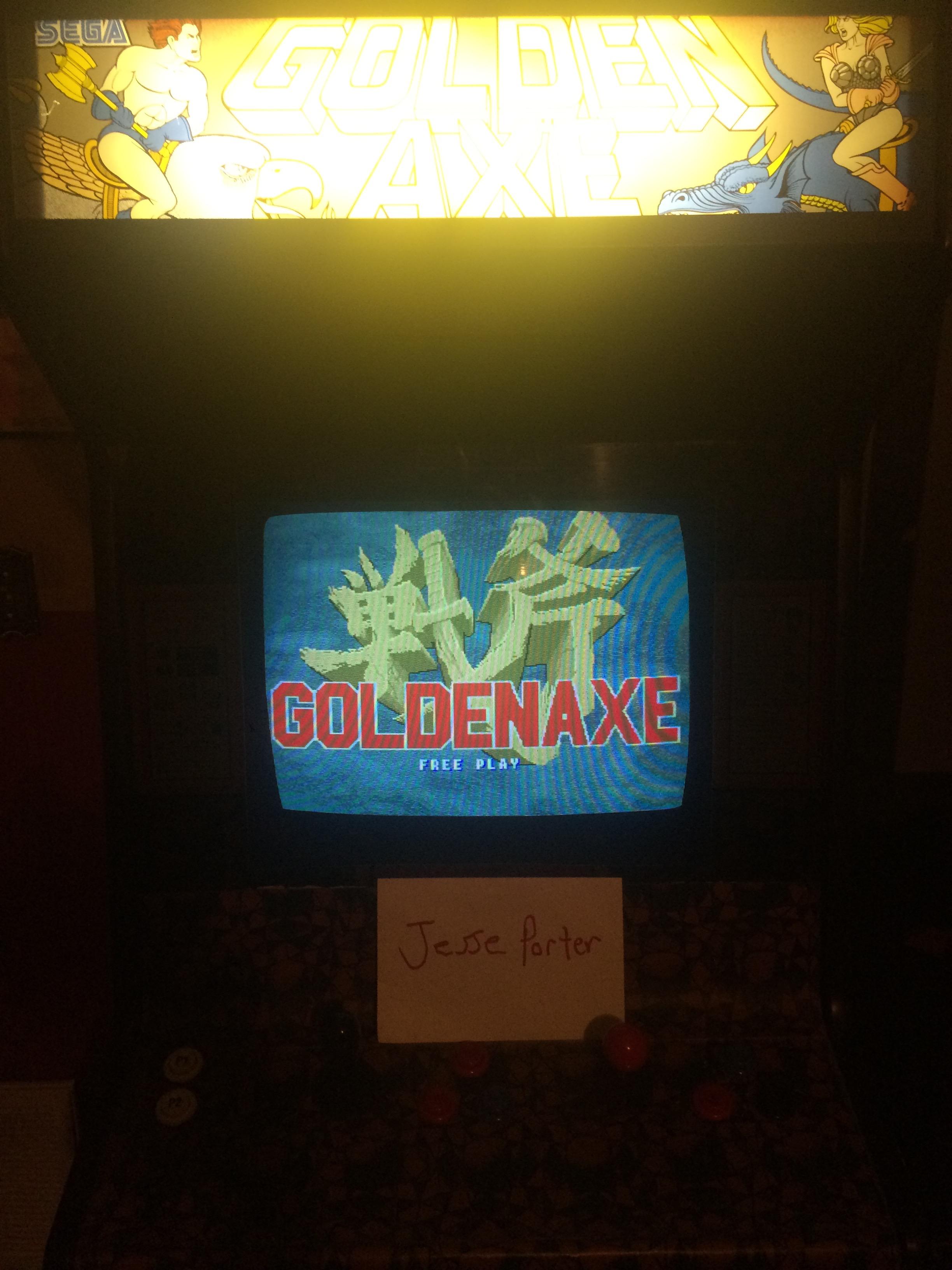 JessePorter: Golden Axe (Arcade) 137 points on 2016-09-18 20:21:34