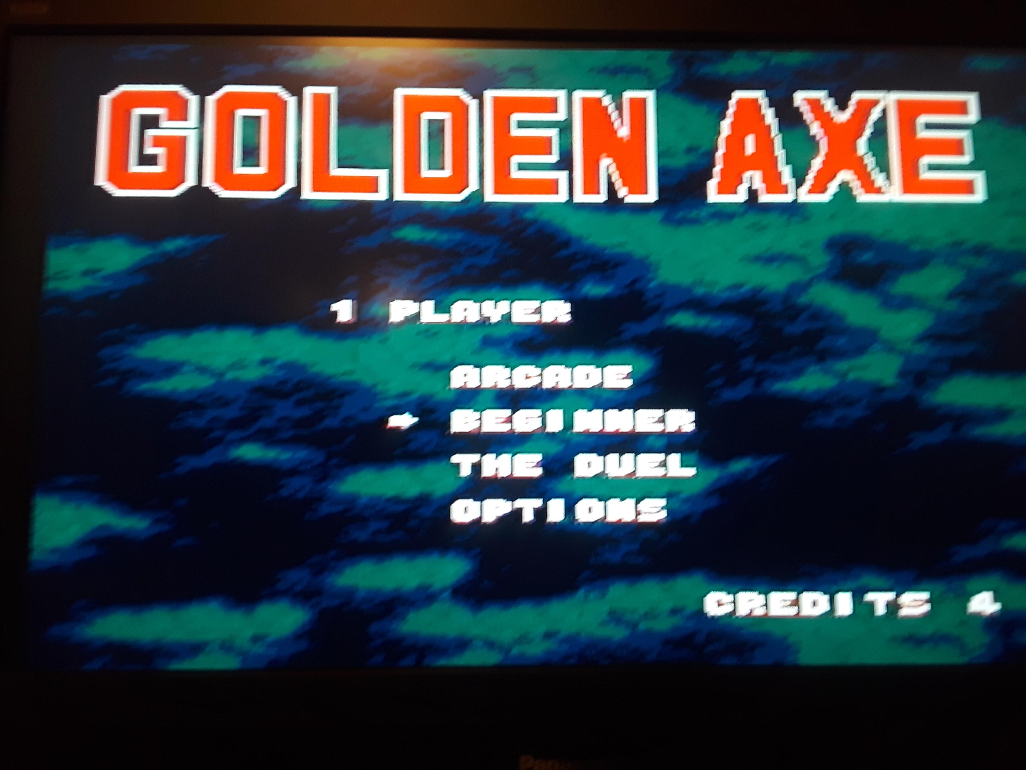 Golden Axe [Beginner] 79 points