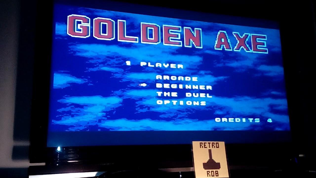 RetroRob: Golden Axe [Beginner] (Sega Genesis / MegaDrive Emulated) 73 points on 2019-11-16 02:58:33