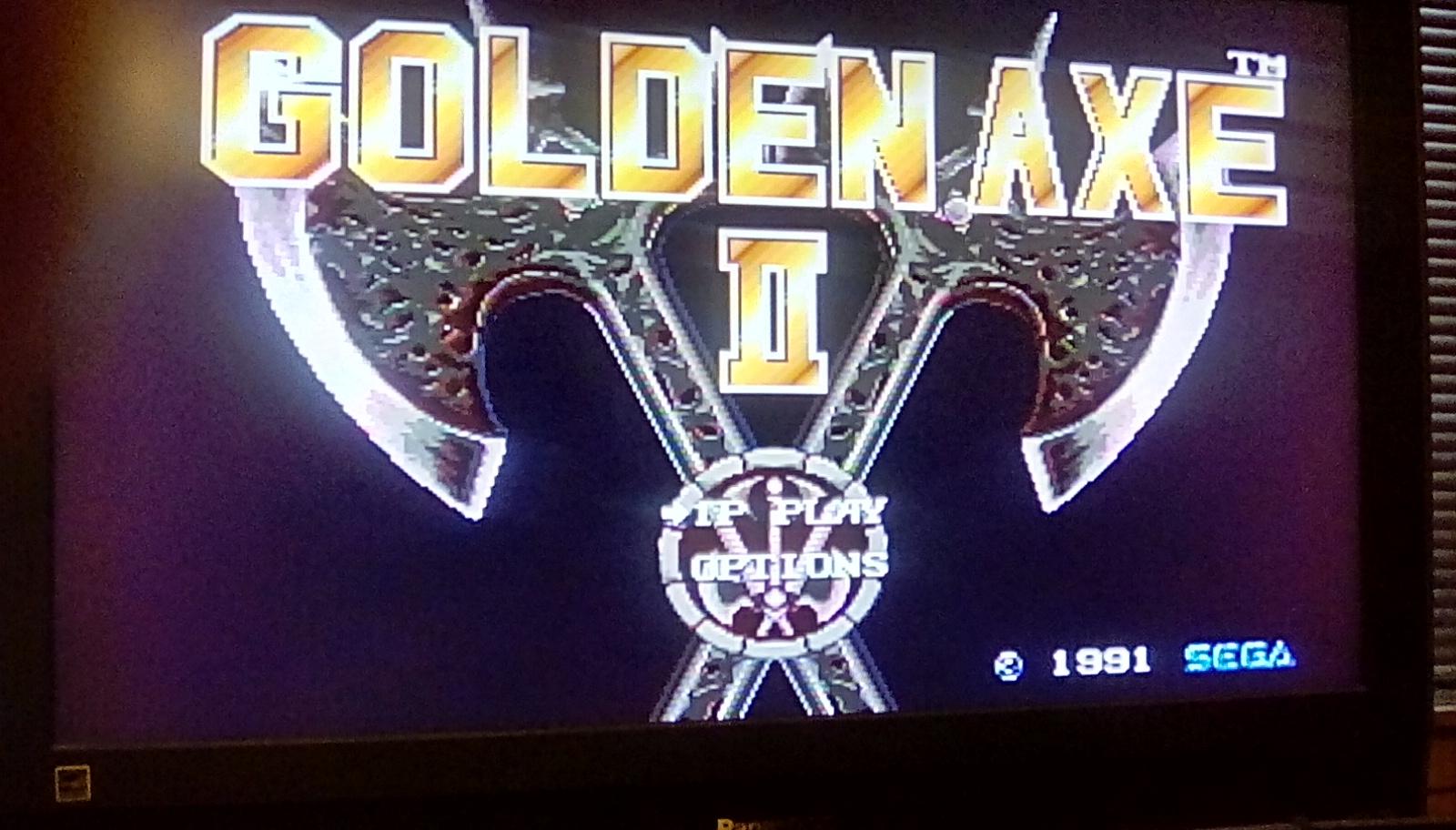 Golden Axe II [Easy] 47 points