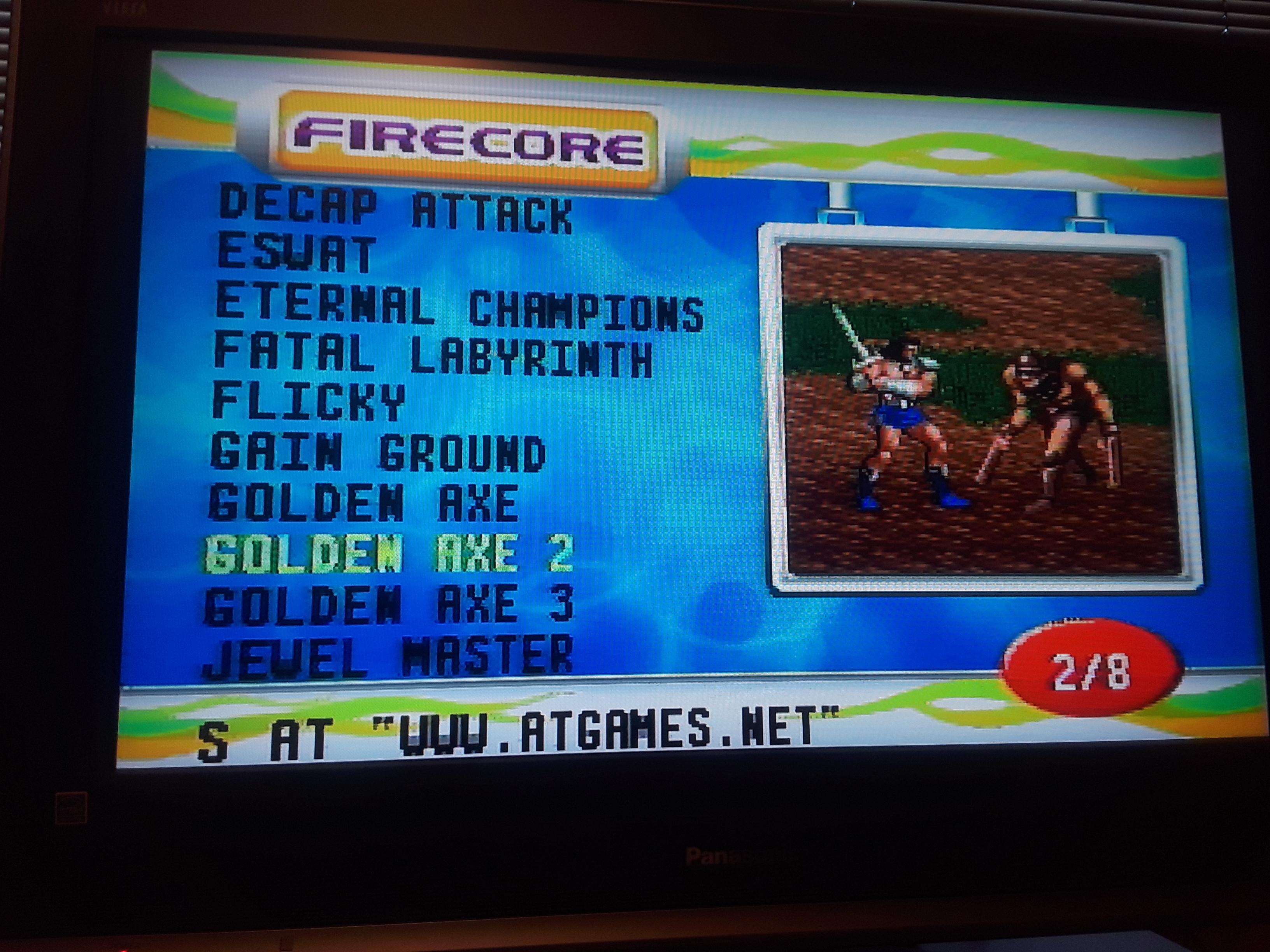 JML101582: Golden Axe II [The Duel] (Sega Genesis / MegaDrive Emulated) 30 points on 2018-07-15 14:47:33