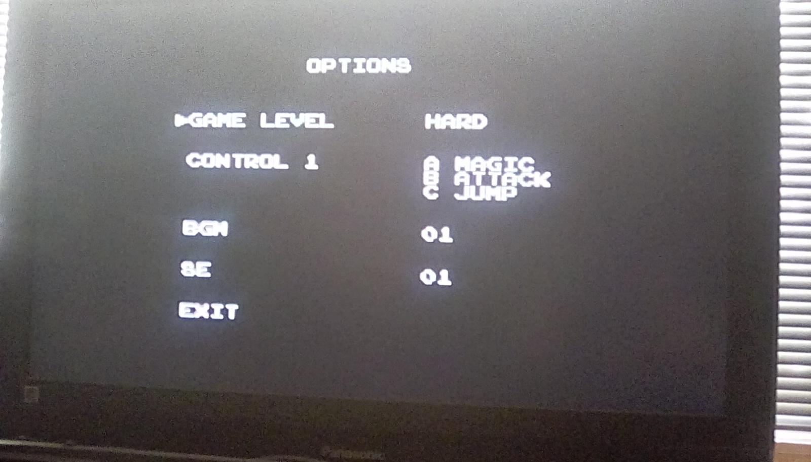 Golden Axe III [Hard] 69 points