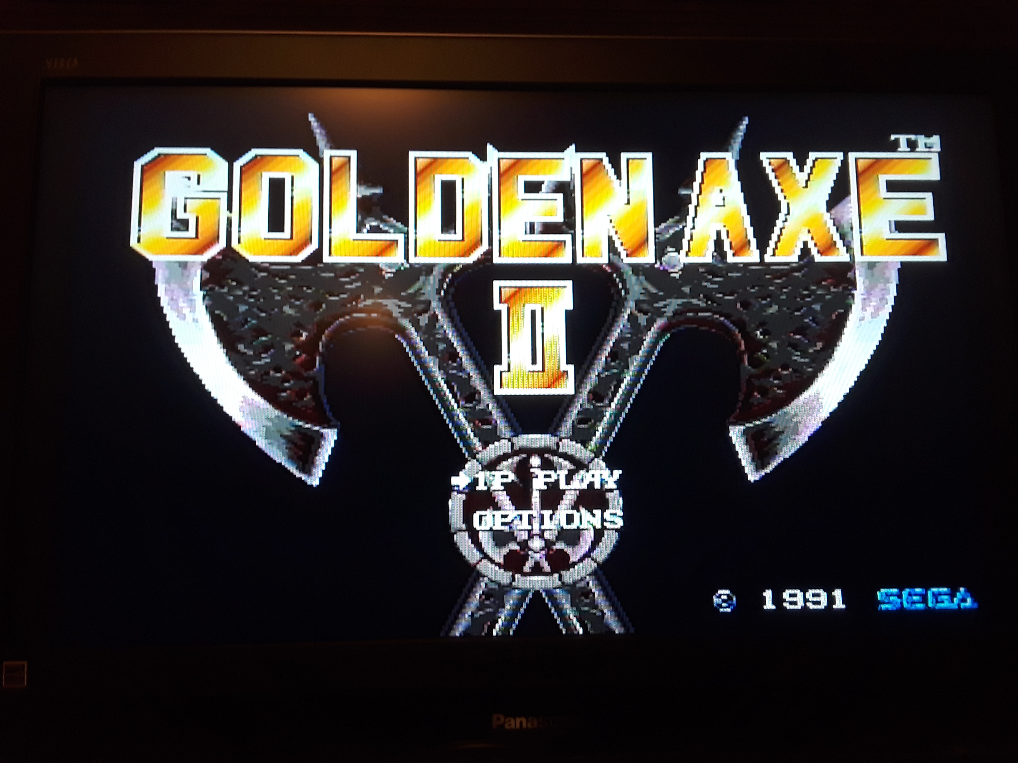 Golden axe II [Hard] 36 points
