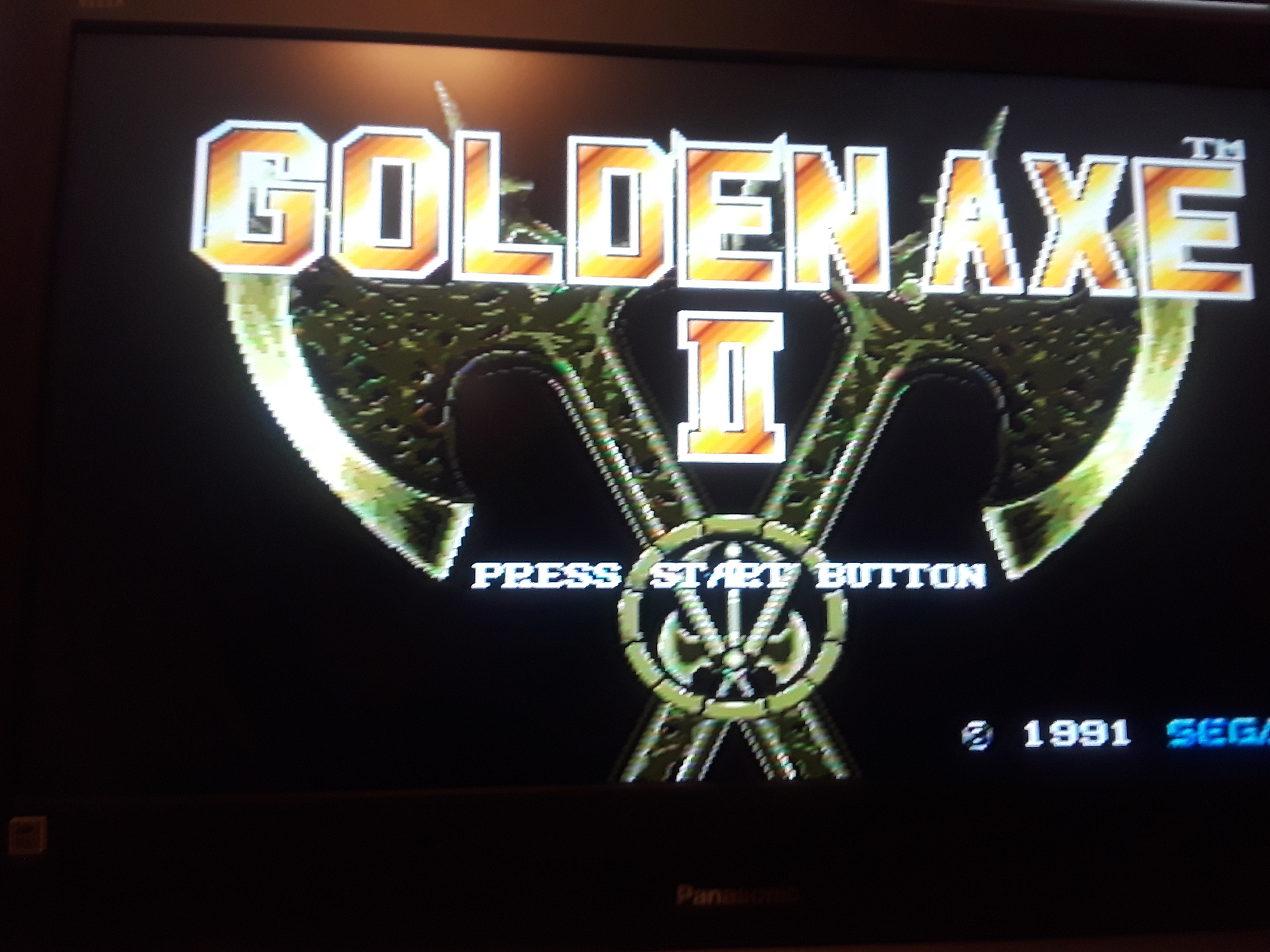 Golden axe II [Hard] 43 points