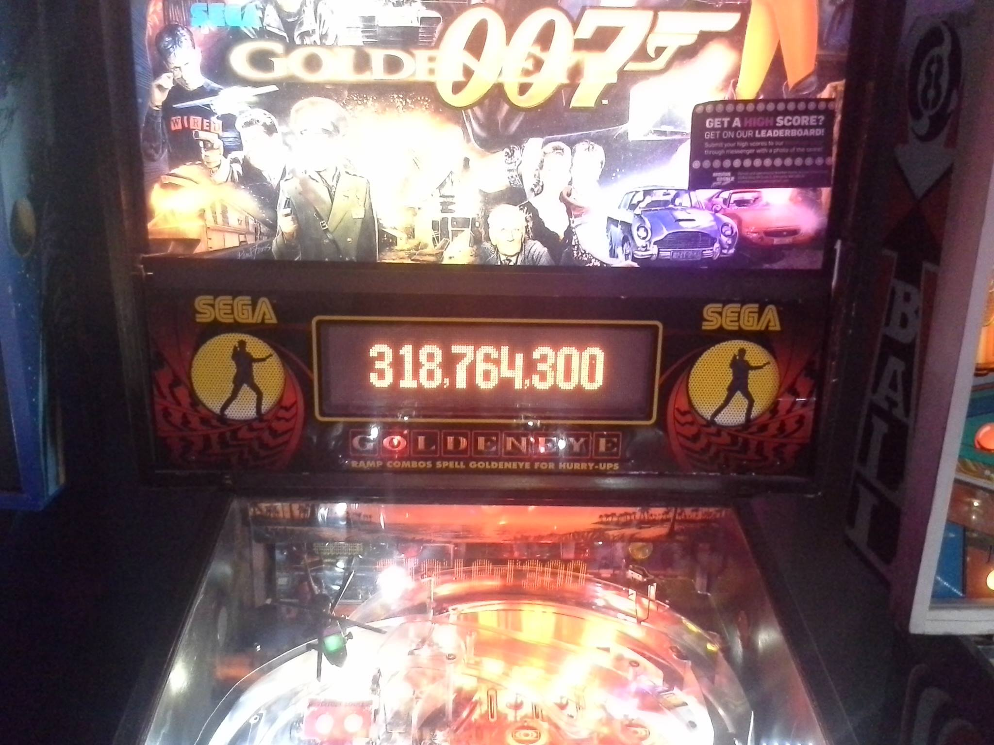GoldenEye 318,764,300 points