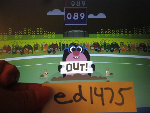 google doodle cricket web high score by ed1475 high score
