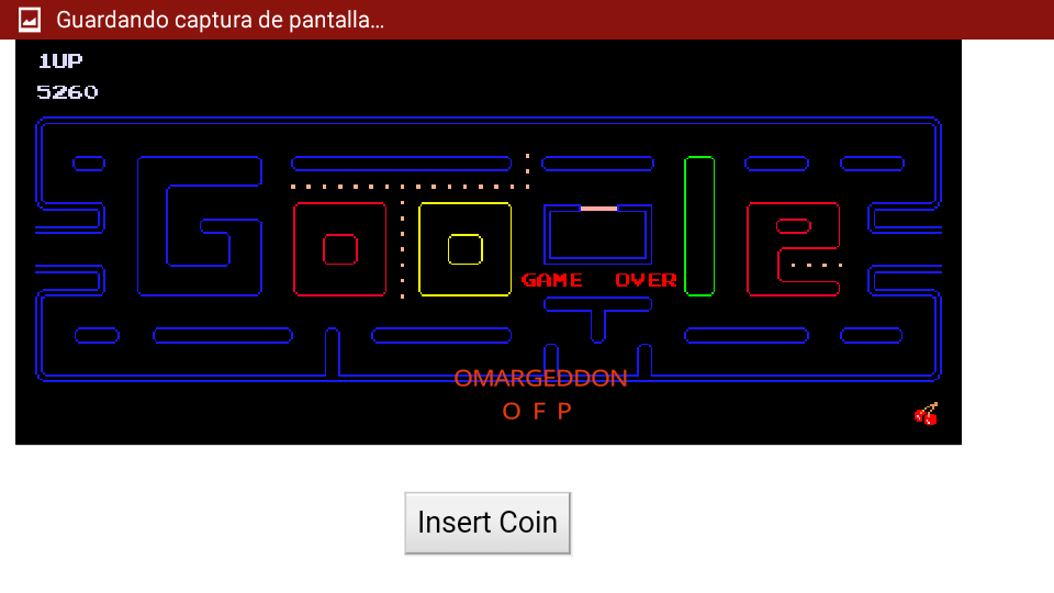 Google Pac-Man 5,260 points