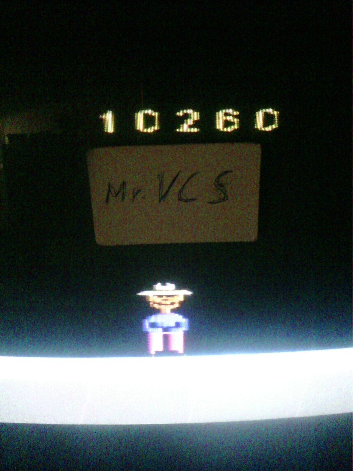 MisterVCS: Gopher (Atari 2600 Novice/B) 10,260 points on 2018-12-15 10:35:23
