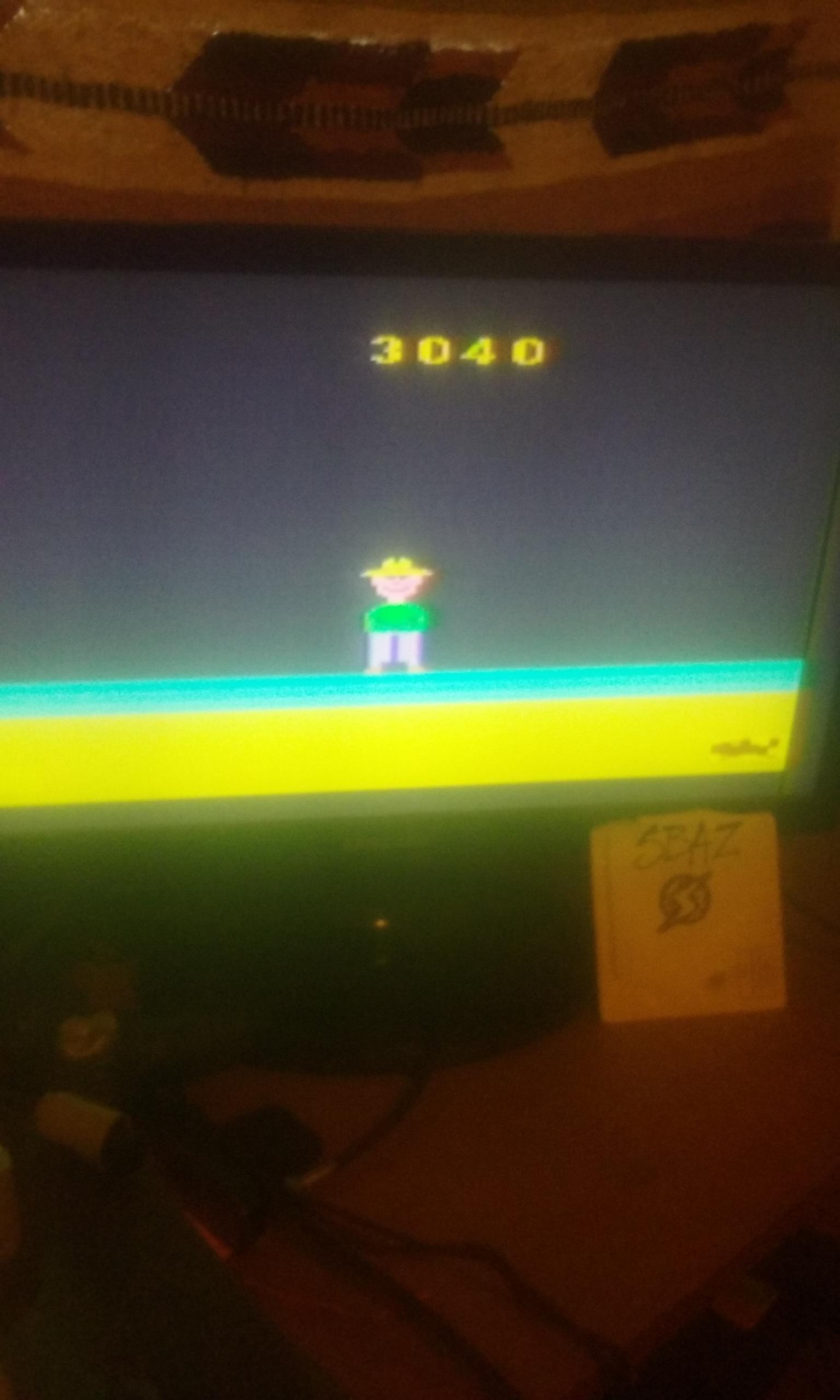 S.BAZ: Gopher (Atari 2600 Novice/B) 3,040 points on 2019-01-29 02:21:02