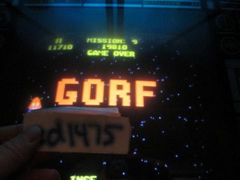 ed1475: Gorf (Arcade) 11,710 points on 2019-01-21 14:13:35