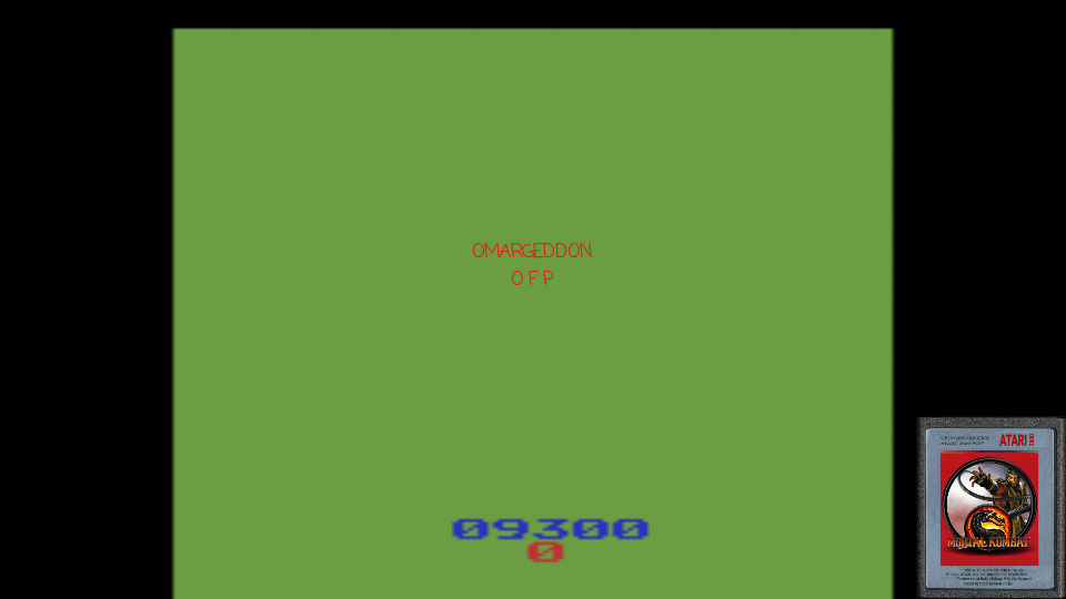 omargeddon: Gorf (Atari 2600 Emulated) 9,300 points on 2017-02-07 00:14:31