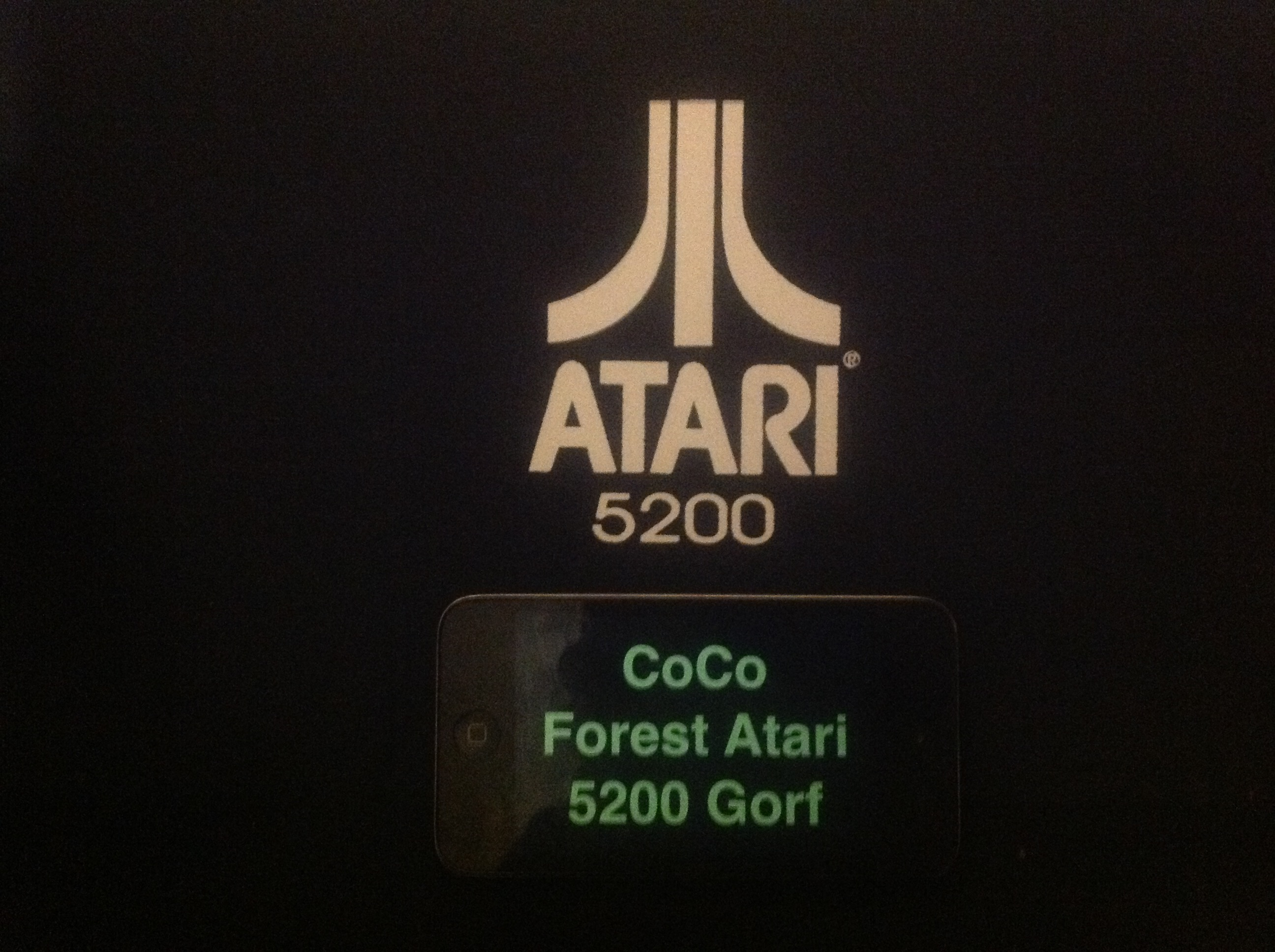 CoCoForest: Gorf (Atari 5200) 7,260 points on 2015-11-13 10:34:38
