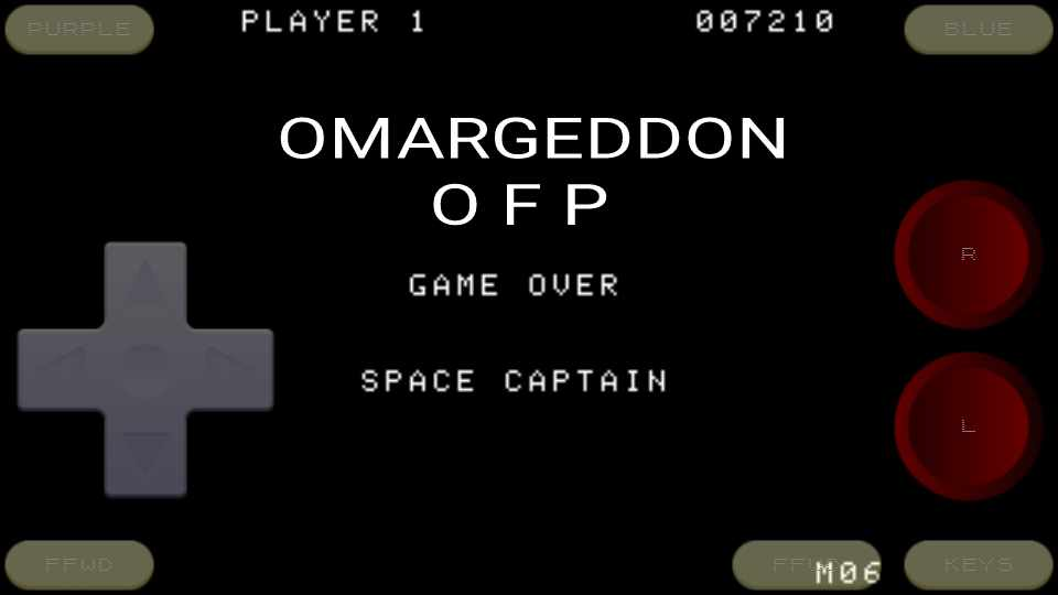 omargeddon: Gorf (Colecovision Emulated) 7,210 points on 2016-11-27 23:41:46