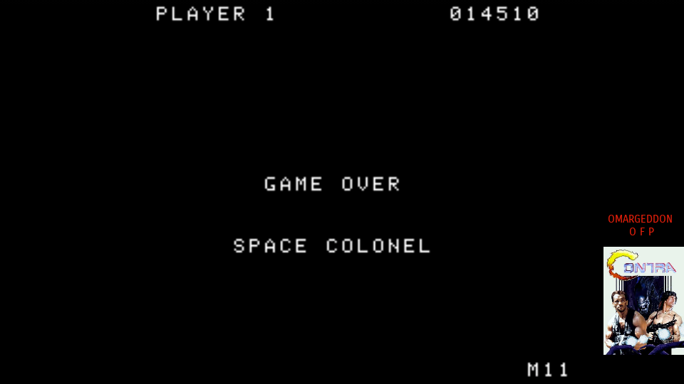 omargeddon: Gorf (Colecovision Emulated) 14,510 points on 2017-07-15 23:35:08