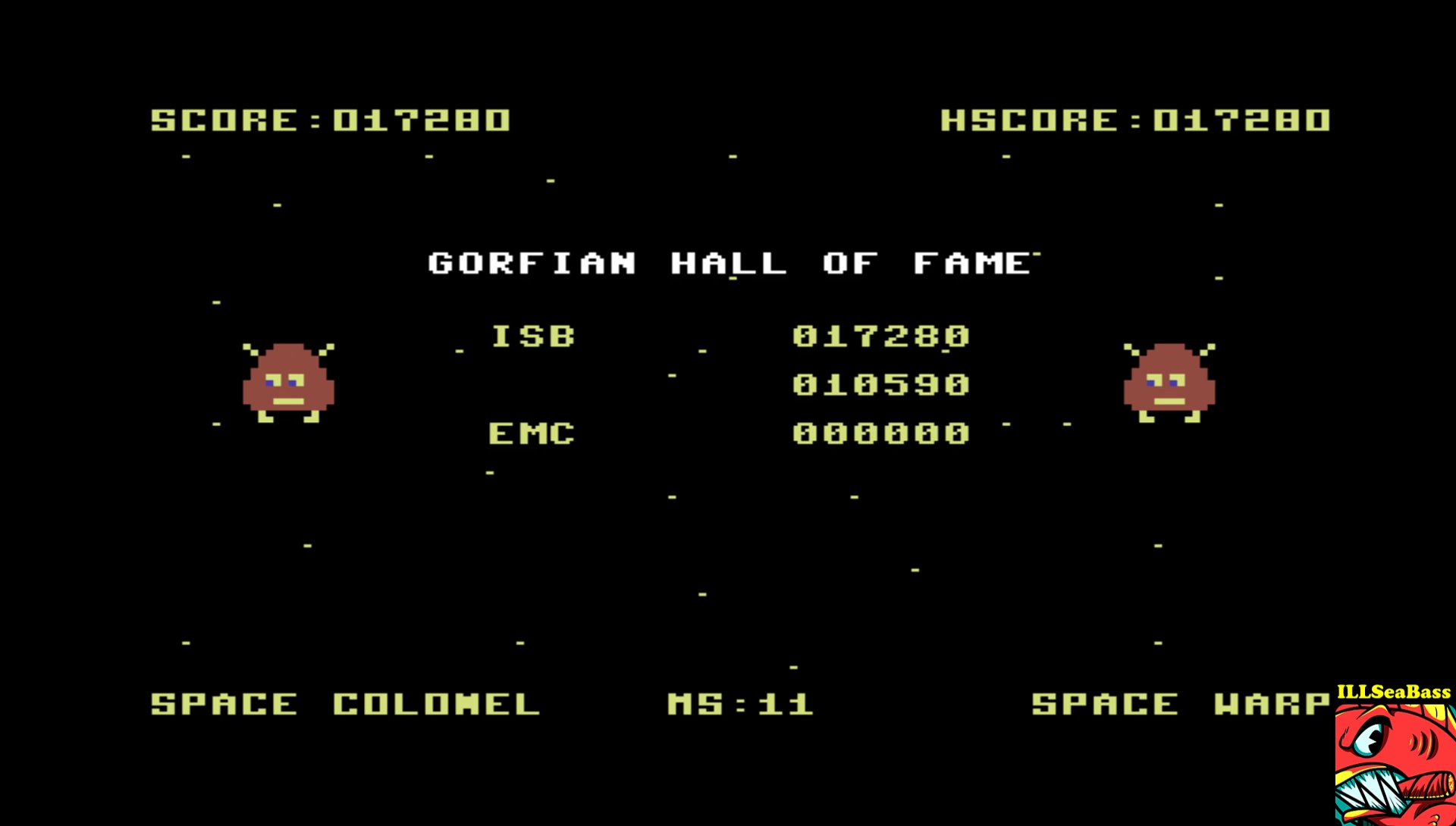 ILLSeaBass: Gorf (Commodore 64 Emulated) 17,280 points on 2017-05-30 00:50:20