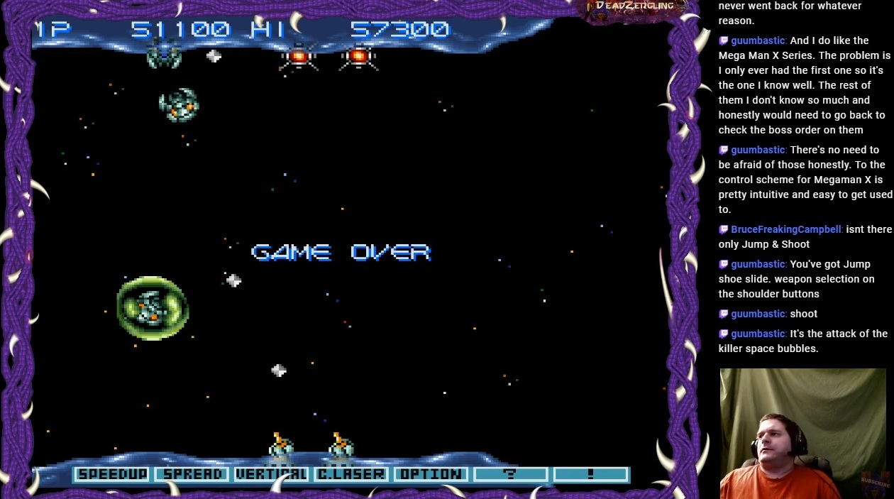 Gradius 3 51,100 points