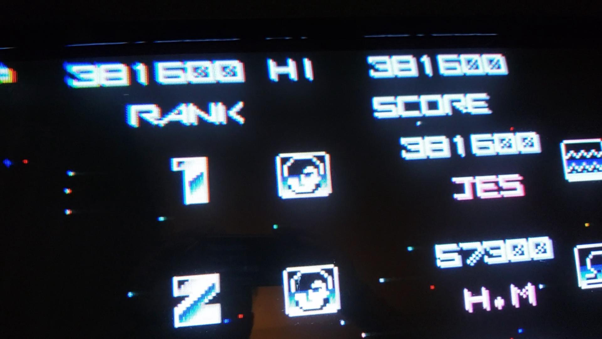 JES: Gradius (Arcade Emulated / M.A.M.E.) 381,600 points on 2021-01-20 22:02:10